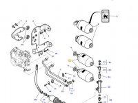 Гидроаккумулятор сцепления трактора Massey Ferguson — 4364664M1