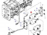 Гидроаккумулятор сухого сцепления трактор Challenger — 4364664M1