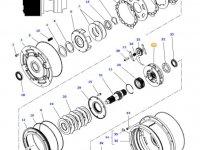 Планетарная передача мультипликатора КПП трактора Massey Ferguson — 4364808M2