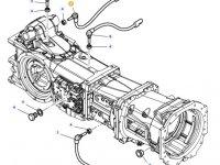 Датчик скорости оборотов ВОМ трактора Massey Ferguson (Длина 60 мм) — 4364875M1