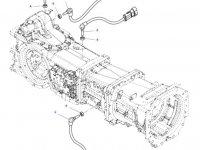 Датчик скорости оборотов ВОМ трактора Massey Ferguson (Длина 107 мм) — 4364876M1