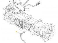 Датчик скорости оборотов ВОМ трактора Massey Ferguson (Длина 75 мм) — 4364878M1