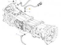 Датчик скорости оборотов ВОМ трактора Massey Ferguson (Длина 60 мм) — 4364884M1