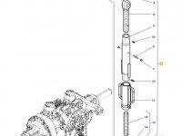 Раскос навески трактора Massey Ferguson — 4375035M91