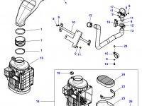 Воздушный фильтр большой трактора Challenger — 4375638M1