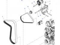 Шкив (ролик) ремня генератора двигателя трактора Massey Ferguson — 4376755M1