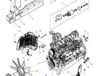 Крыльчатка (вентилятор) радиатора двигателя трактора Massey Ferguson — 4377131M1