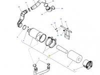 Вставка воздушного фильтра двигателя трактора Massey Ferguson — 4379575M1