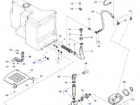 Сетчатый фильтр гидравлики трактора Massey Ferguson» — 4382524M1