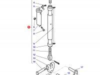 Центральный винт задней навески трактора Challenger (655-820 мм) — 4383325M91