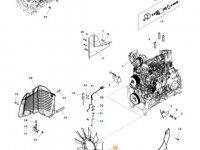 Крыльчатка (вентилятор) радиатора двигателя трактора Massey Ferguson — 4390648M1