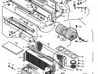 Вентилятор печки отопителя кондиционера кабины — 32729800