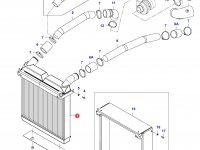 Интеркулер двигателя Sisu Diesel — 35245710