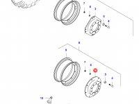 Вставка переднего колесного диска трактора — 37144700