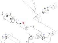 Воздушный фильтр двигателя Sisu Diesel (малый) — 20228655