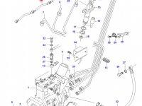 Трубка отвода топлива (топливоотвод) двигателя Sisu Diesel — 836355330
