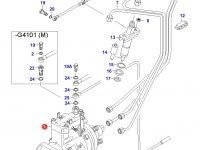 Топливный насос высокого давления (ТНВД) двигателя Sisu Diesel — 836754665