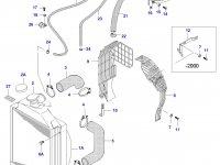 Радиатор двигателя Sisu Diesel — 33481900