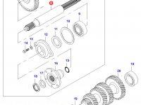 Вал полного привода КПП — 30310810