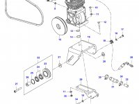 Воздушный компрессор трактора Valtra — 32944300