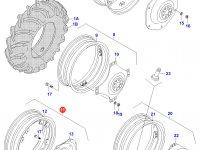 Задний колесный диск - DW12x38 — 32505300