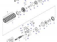 Подшипник муфты полного привода КПП — 35032200