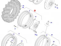 Задний колесный диск - DW12x30 — 30540730