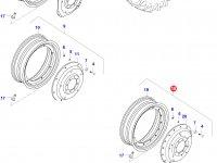 Задний колесный диск - TW18Lx38 (GKN) — 0238420