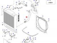 Нижний патрубок радиатора двигателя Sisu Diesel — 39251300