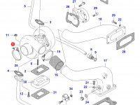 Турбокомпрессор двигателя Sisu Diesel — 836840891