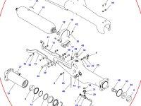 Натяжитель гусеницы для гусеничных тракторов Challenger (левая сторона) — 500835D1