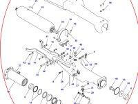 Натяжитель гусеницы для гусеничных тракторов Challenger (правая сторона) — 500836D1