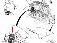 Воздушный компрессор трактора Challenger — 500989D1