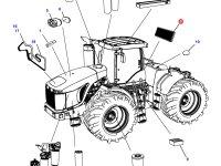 Фильтр кабины (салонный) трактора Challenger — 501153D1