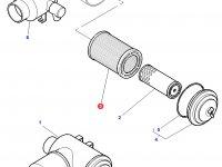 Воздушный фильтр большой трактора Challenger — 5016603M1