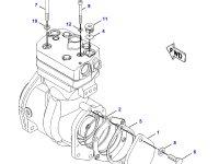 Воздушный компрессор трактора Challenger — 501892D1