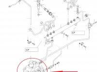 Топливный насос высокого давления (ТНВД) двигателя Sisu Diesel — 837069148