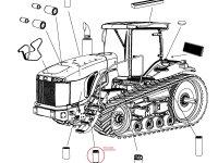 Топливный фильтр сепаратор на трактор Challenger — 531314D1