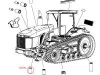 Первичный топливный фильтр трактора Challenger — 539271D1