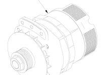 Генератор трактора Challenger — 559844D1