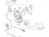 Турбокомпрессор двигателя Sisu Diesel — 836859867
