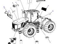 Фильтр кабины (салонный) трактора Challenger — 570072D1