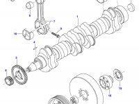Поршень двигателя Sisu Diesel — 836866182