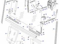 Моторчик щетки стеклоочистителя трактора — 33276300