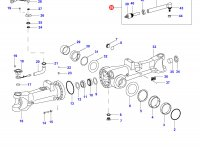 Рулевая тяга трактора в сборе — 35027200