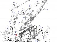 Топливный насос высокого давления (ТНВД) двигателя Sisu Diesel — 836854670