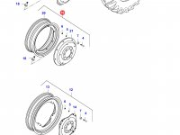 Задний колесный диск - TW23Bx38 (50km/h) — 34646820