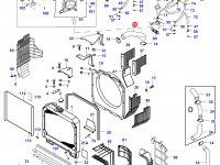 Верхний патрубок радиатора двигателя Sisu Diesel — 30107800