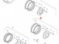 Передний колесный диск - DW12x30 — 35967900