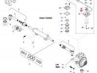 Датчик угла поворота колес трактора — 37950100